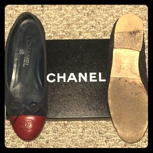 Chanel Quilted Ballerina Flats